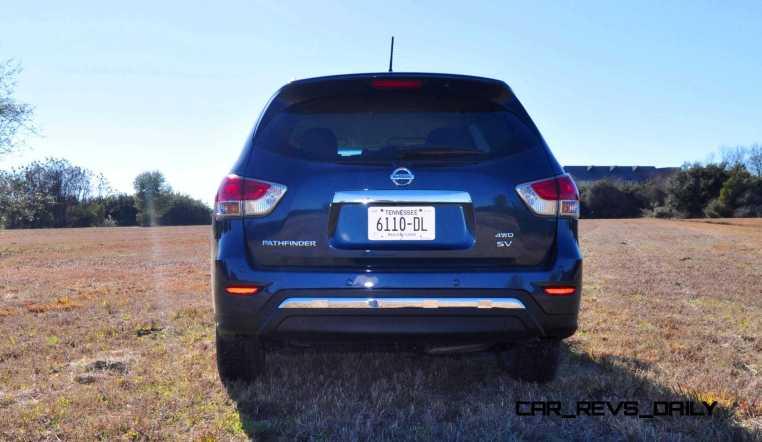 Road Test Review - 2015 Nissan Pathfinder SV 4WD 104