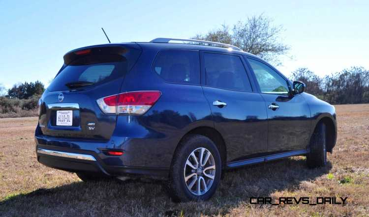 Road Test Review - 2015 Nissan Pathfinder SV 4WD 105