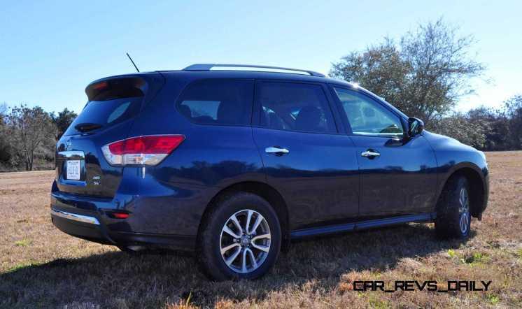 Road Test Review - 2015 Nissan Pathfinder SV 4WD 106