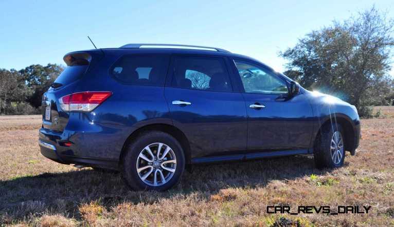 Road Test Review - 2015 Nissan Pathfinder SV 4WD 107