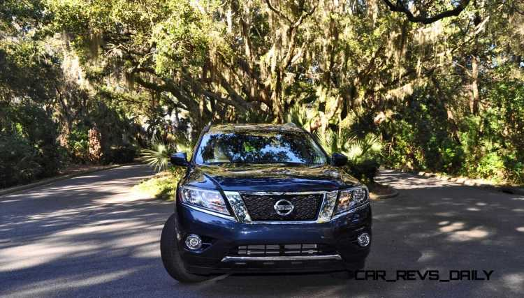 Road Test Review - 2015 Nissan Pathfinder SV 4WD 115