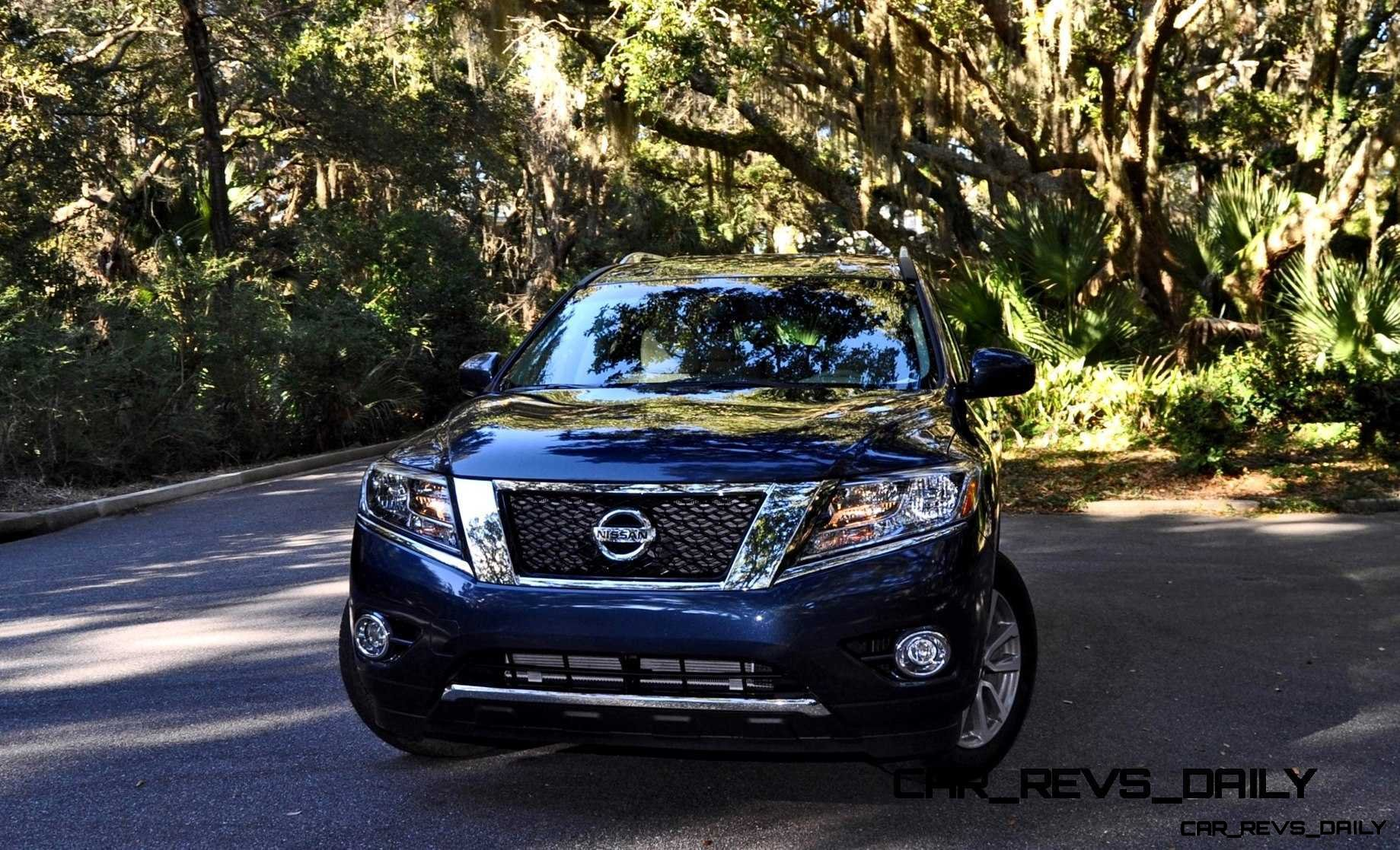 Road Test Review - 2015 Nissan Pathfinder SV 4WD 117