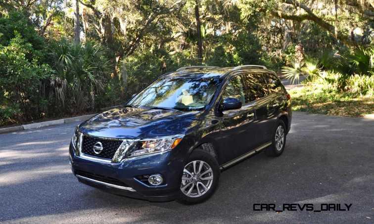 Road Test Review - 2015 Nissan Pathfinder SV 4WD 119