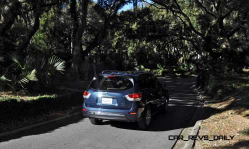 Road Test Review - 2015 Nissan Pathfinder SV 4WD 131