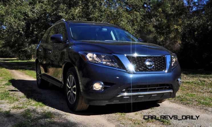 Road Test Review - 2015 Nissan Pathfinder SV 4WD 14