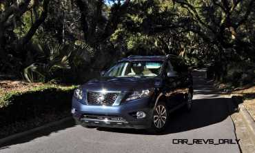 Road Test Review - 2015 Nissan Pathfinder SV 4WD 145