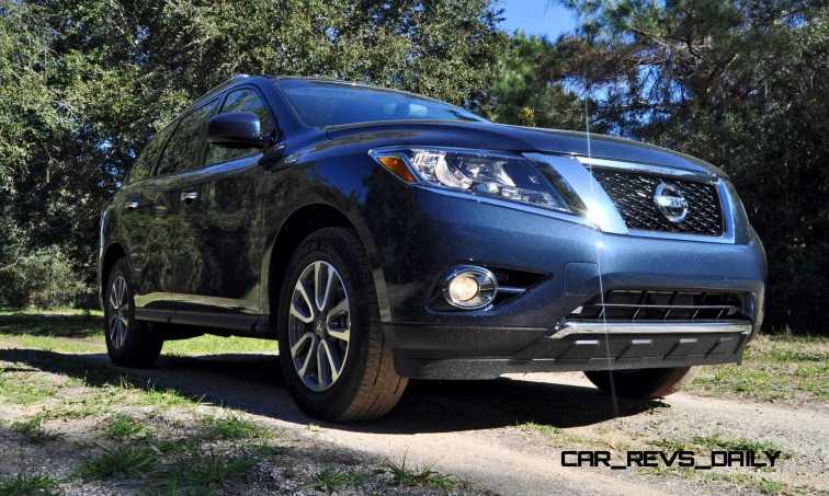 Road Test Review - 2015 Nissan Pathfinder SV 4WD 15