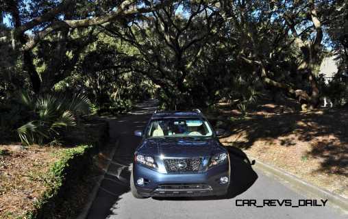 Road Test Review - 2015 Nissan Pathfinder SV 4WD 152