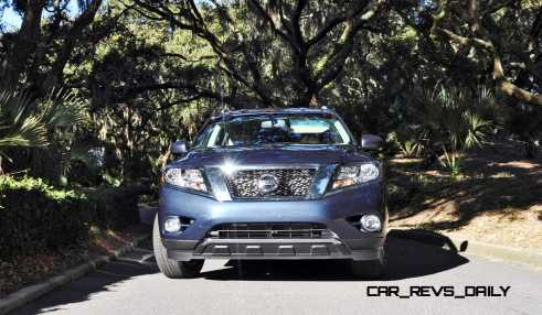 Road Test Review - 2015 Nissan Pathfinder SV 4WD 158