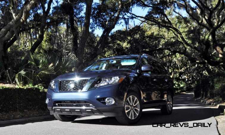 Road Test Review - 2015 Nissan Pathfinder SV 4WD 162