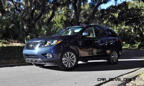 Road Test Review - 2015 Nissan Pathfinder SV 4WD 165