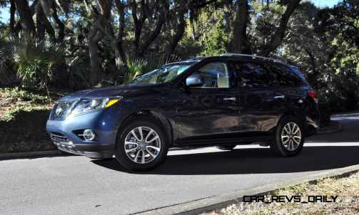 Road Test Review - 2015 Nissan Pathfinder SV 4WD 167
