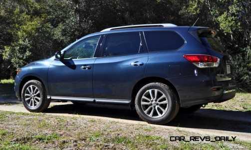 Road Test Review - 2015 Nissan Pathfinder SV 4WD 30