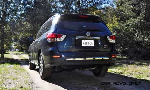Road Test Review - 2015 Nissan Pathfinder SV 4WD 37