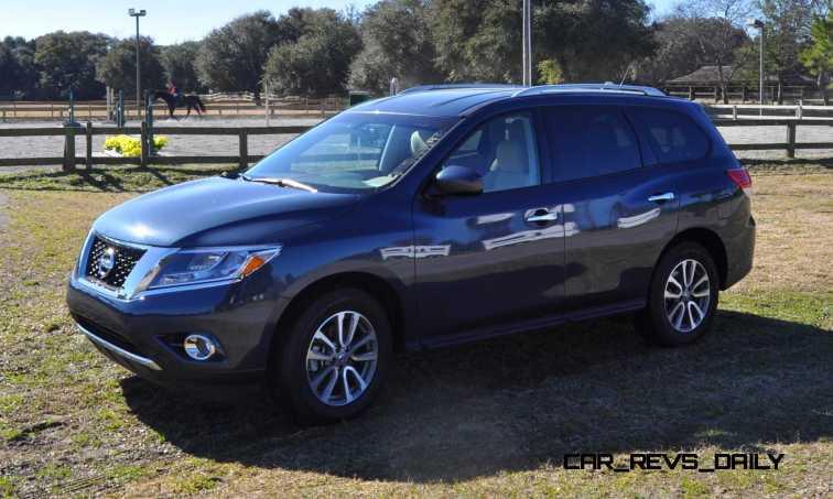 Road Test Review - 2015 Nissan Pathfinder SV 4WD 4