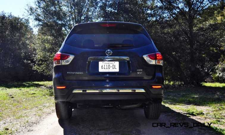 Road Test Review - 2015 Nissan Pathfinder SV 4WD 40
