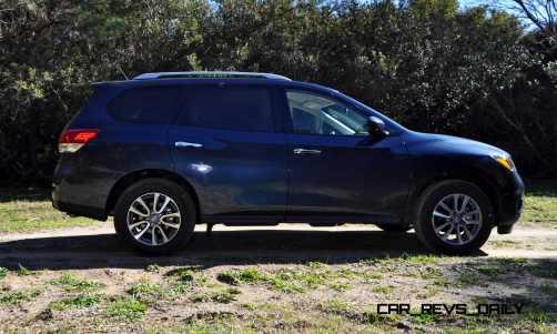 Road Test Review - 2015 Nissan Pathfinder SV 4WD 47