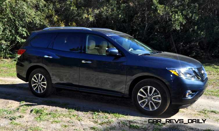 Road Test Review - 2015 Nissan Pathfinder SV 4WD 49