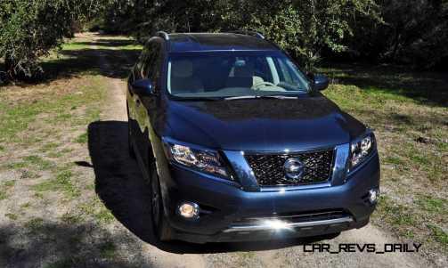 Road Test Review - 2015 Nissan Pathfinder SV 4WD 56