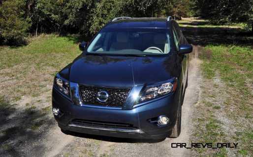 Road Test Review - 2015 Nissan Pathfinder SV 4WD 61