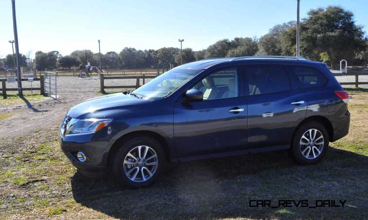 Road Test Review - 2015 Nissan Pathfinder SV 4WD 6