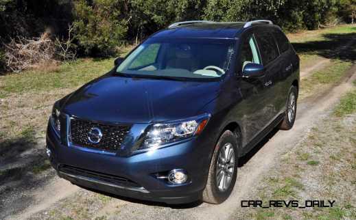 Road Test Review - 2015 Nissan Pathfinder SV 4WD 63