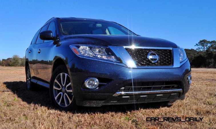 Road Test Review - 2015 Nissan Pathfinder SV 4WD 78