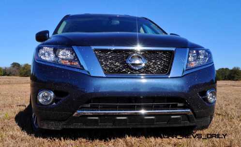 Road Test Review - 2015 Nissan Pathfinder SV 4WD 81