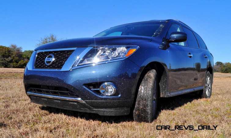 Road Test Review - 2015 Nissan Pathfinder SV 4WD 86