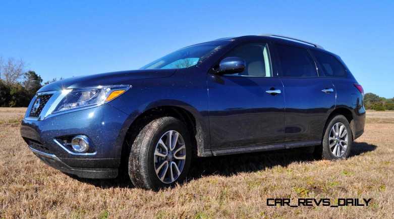 Road Test Review - 2015 Nissan Pathfinder SV 4WD 88