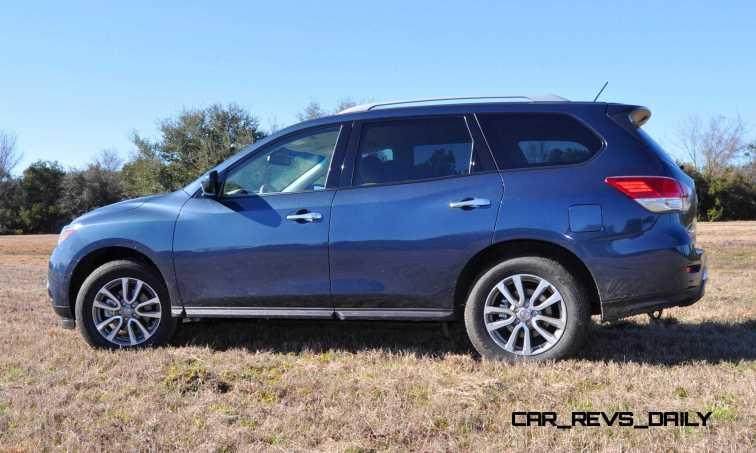 Road Test Review - 2015 Nissan Pathfinder SV 4WD 95