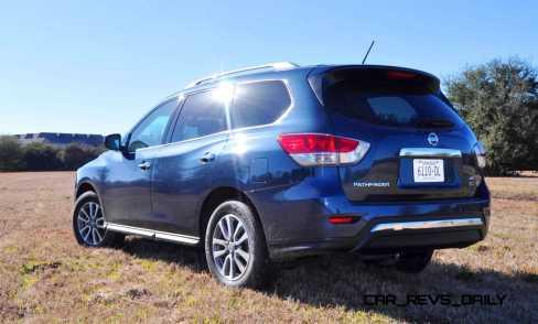 Road Test Review - 2015 Nissan Pathfinder SV 4WD 99