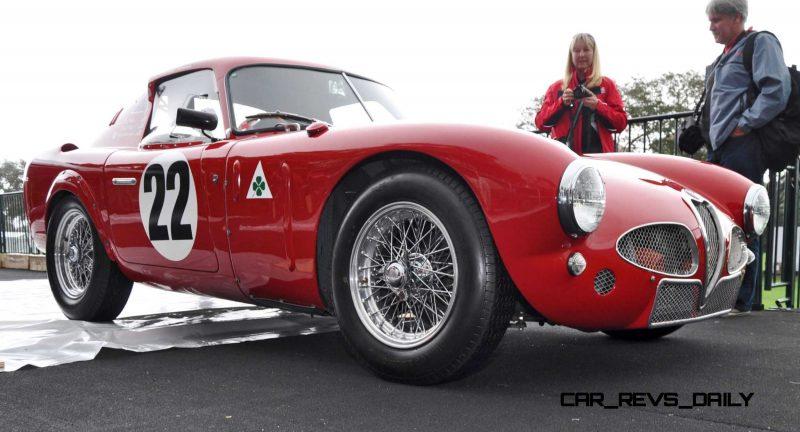 1953 Alfa Romeo 6C 3000CM Shows Origin of 2015 4C Nose Design 21