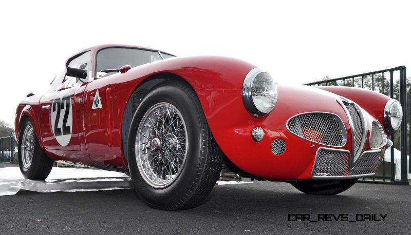 1953 Alfa Romeo 6C 3000CM Shows Origin of 2015 4C Nose Design 24