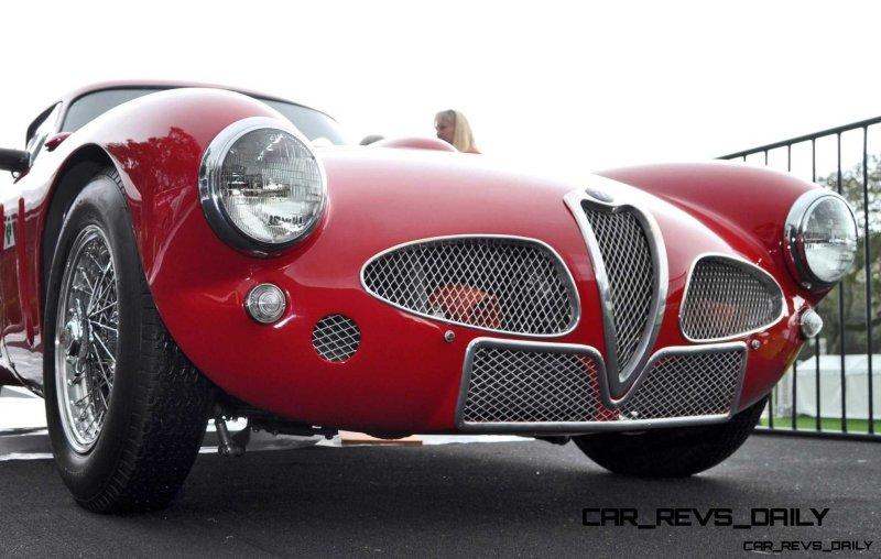 1953 Alfa Romeo 6C 3000CM Shows Origin of 2015 4C Nose Design 25