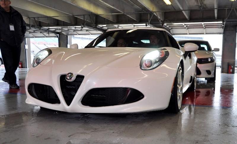 1953 Alfa Romeo 6C 3000CM Shows Origin of 2015 4C Nose Design 4
