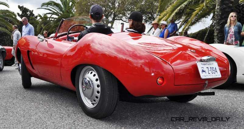 1956 Arnolt-Bristol Deluxe Roadster by Bertone 17