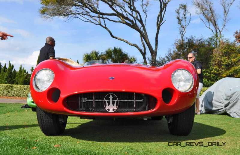 1956 Maserati 300S -  Amelia Island 2015 17