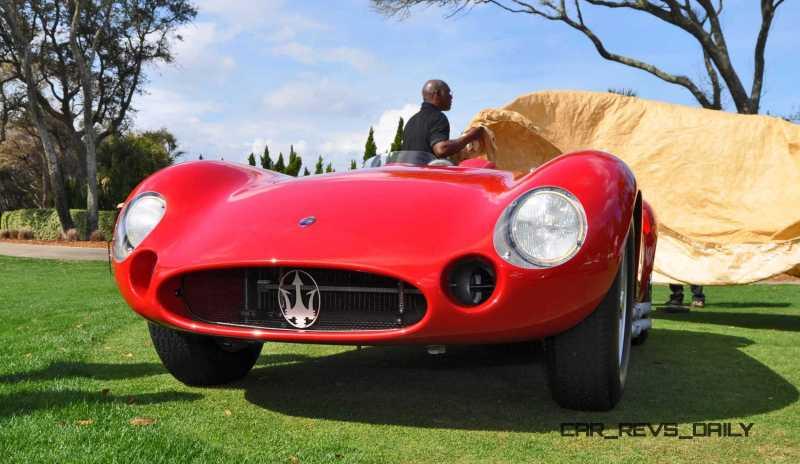 1956 Maserati 300S -  Amelia Island 2015 19
