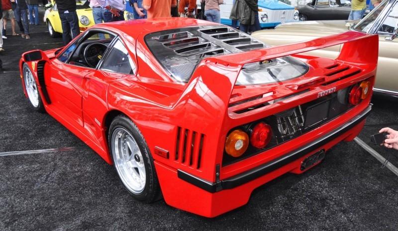 1991 Ferrari F40 9