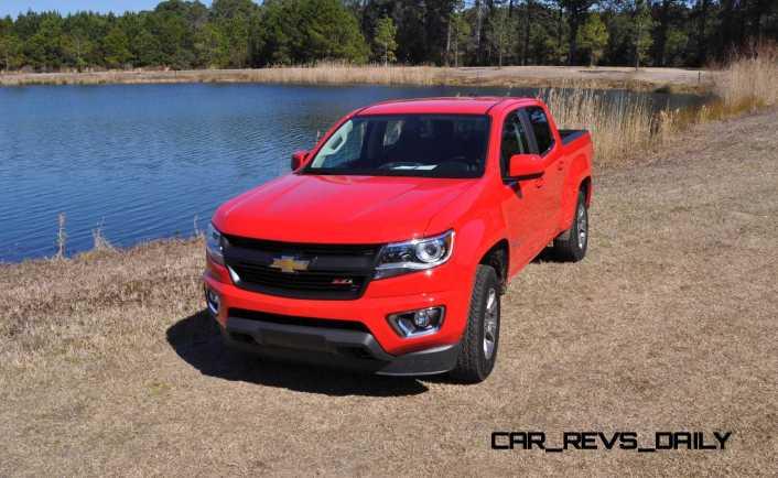2015 Chevrolet Colorado Z71 77