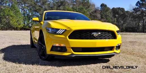 2015 Ford Mustang EcoBoost in Triple Yellow 10