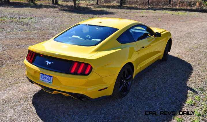 2015 Ford Mustang EcoBoost in Triple Yellow 40
