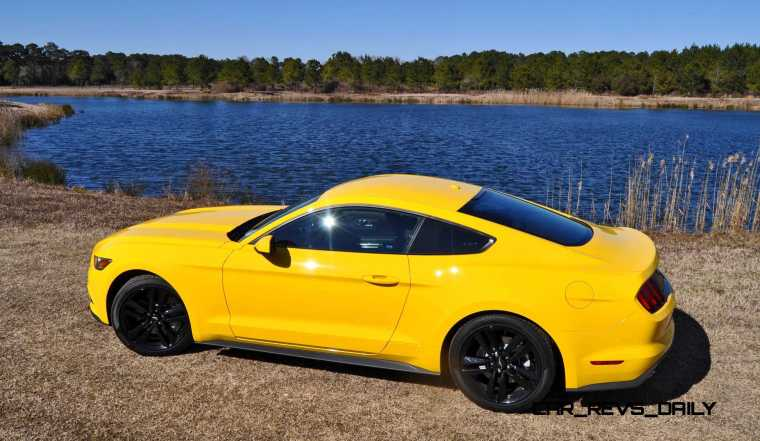 2015 Ford Mustang EcoBoost in Triple Yellow 71