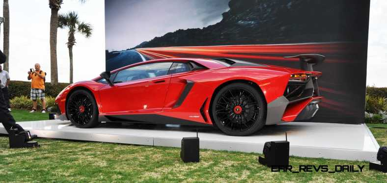 2015 Lamborghini Aventador SV USA Reveal 27