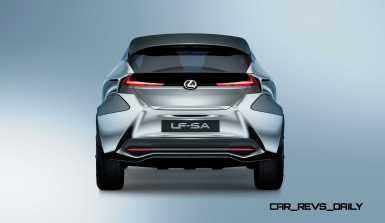 2015 Lexus LF-SA Concept 11