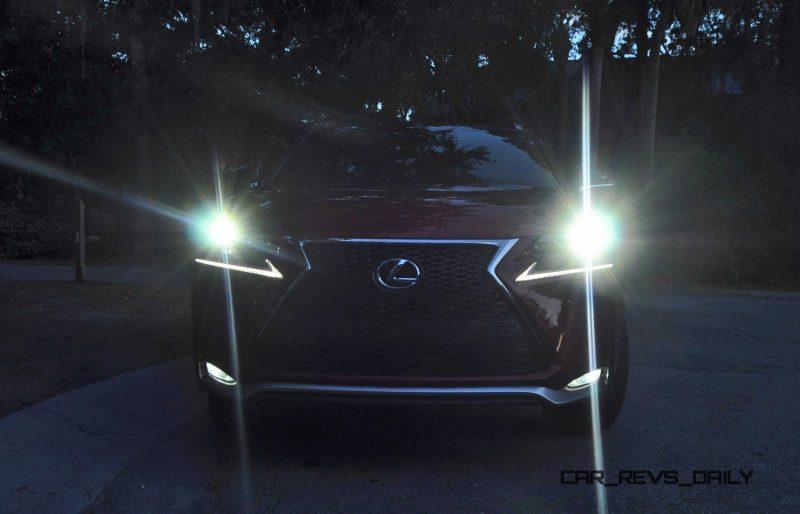 2015 Lexus NX200t F Sport Review 139