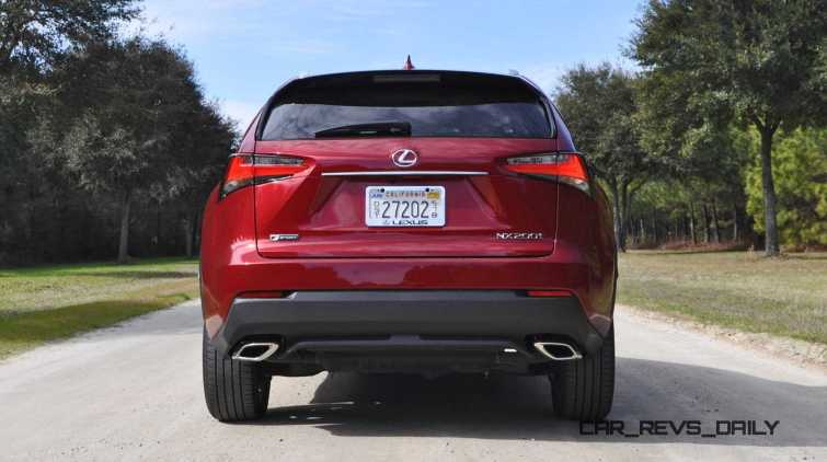 2015 Lexus NX200t F Sport Review 44