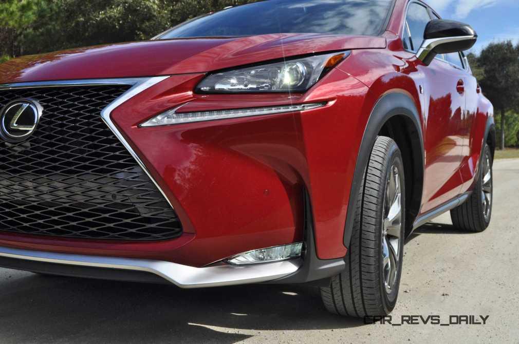 2015 Lexus NX200t F Sport Review 55