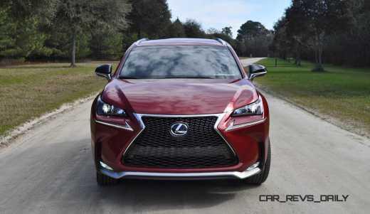 2015 Lexus NX200t F Sport Review 62